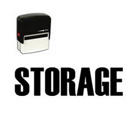 Self Inking Storage Rubber Stamp (Large)