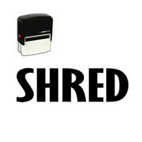 Self-Inking Shred Stamp