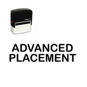 Self-Inking Advanced Placement Stamp