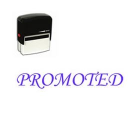 Self Inking Promoted Rubber Stamp (Large)