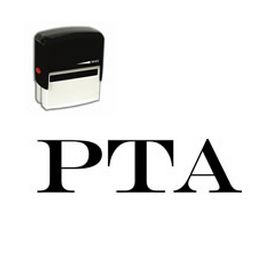 Large Self Inking PTA Rubber Stamp
