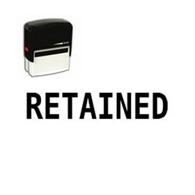 Self-Inking Retained Stamp