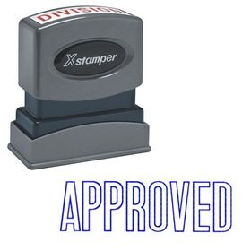 Approved Xstamper Stock Stamp