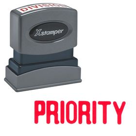 Priority Xstamper Stock Stamp