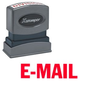 E-Mail Xstamper Stock Stamp
