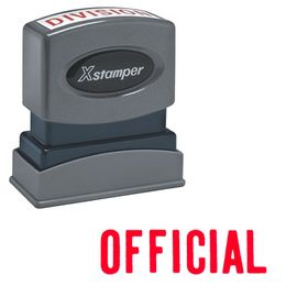Official Xstamper Stock Stamp