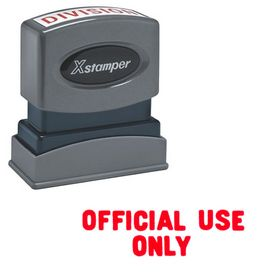 Official Use Only Xstamper Stock Stamp