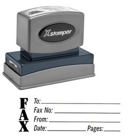 Fax Stamp Xstamper Stock Stamp