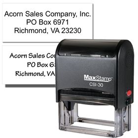 return address stamp self-inking