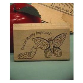 Improved Art Rubber Stamp