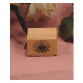 Small Daisy Art Rubber Stamp