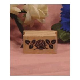 Small Rose Art Rubber Stamp