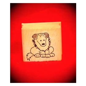 Lion Art Rubber Stamp