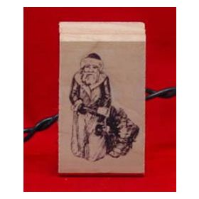 Father Christmas Rubber Stamp