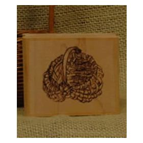 Large Egg Basket Stamp