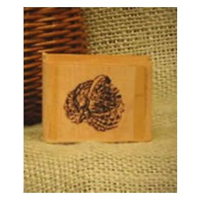 Small Egg Basket Art Rubber Stamp