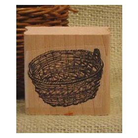 Laundry Basket Craft Stamp