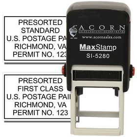 Self Inking Bulk Rate Mail Stamp