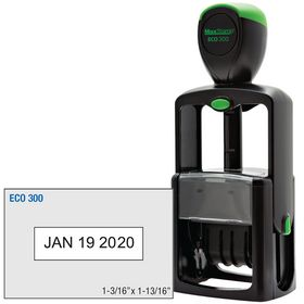 ECO Series Self Inking Date Stamp 1-3/16 x 1-13/16