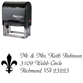 Self-Ink Phyllis Creative Address Ink Stamp