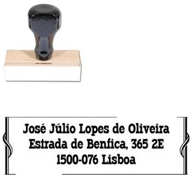 Western Typodermic Customized Address Rubber Stamp