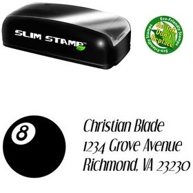 Slimline 8 Ball Orphan Dreams Inking Address Stamp