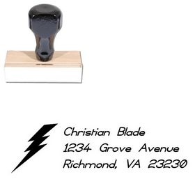 Thunder Compliant Customized Address Stamp