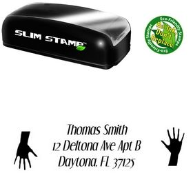 Slim Hand Dream Orphans Inking Address Stamp