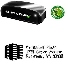 Compact Davis Buildings Personalized Address Stamper