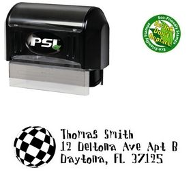 Pre-Inked Disco Ball Davis Custom Address Ink Stamp