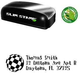 Slimline Disco Ball Davis Custom Address Ink Stamp