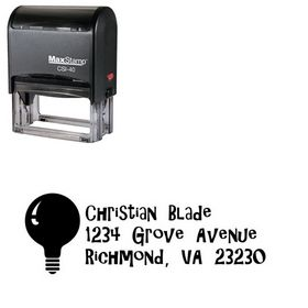 Self-Ink Giligans Island Address Stamp