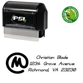 Pre-Ink Copyright Violations Customized Address Stamper