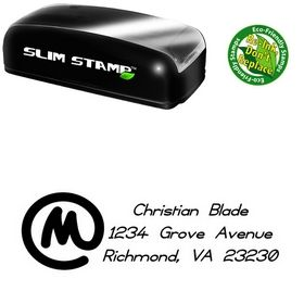 Compact Copyright Violations Customized Address Stamper