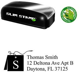 Portable Card Times New Roman Initial Address Stamper