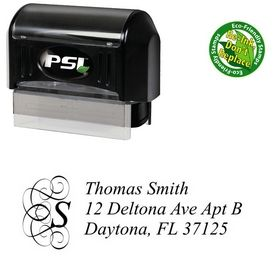 Pre-Inked Dukeplus Customized Address Ink Stamp