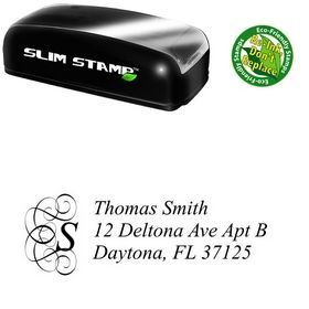 Slim Pre-Inked Dukeplus Customized Address Ink Stamp