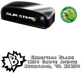 Slim Pre-Ink Mickey Creative Address Ink Stamp
