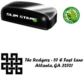 Slimline Design Forte Creative Address Stamp
