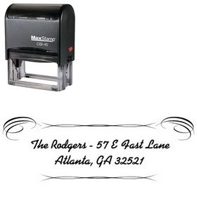 Self Inking Alako Custom Address Stamp