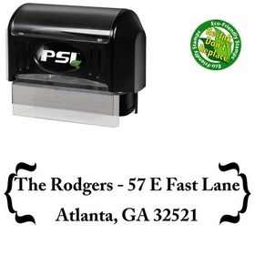 PSI Pre-Inked Zenda Customized Address Stamp