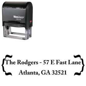 Self-Ink Zenda Customized Address Stamp