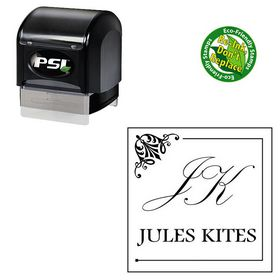 PSI Palace Script Personalized Name Stamper