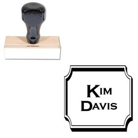 Copperplate Gothic Bold Personal Name Stamper