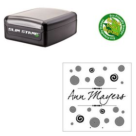 Slimline dear Joe four Custom Monogram Stamper