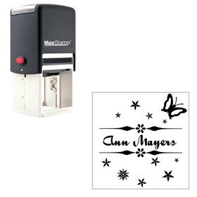 Self Inking Quigley Wiggly Personalized Name Stamper