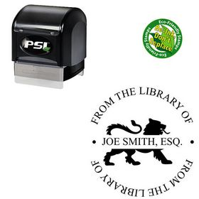 PSI Pre Ink Times New Roman Personal Monogramed Stamps
