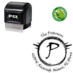 Pre Inked Viner Hand Personal Rubber Initial Stamp