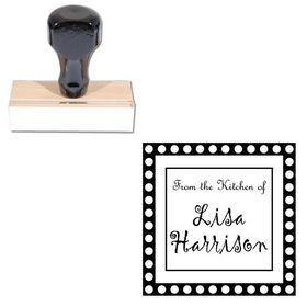 Gigi Customized Square Monogram Stamp