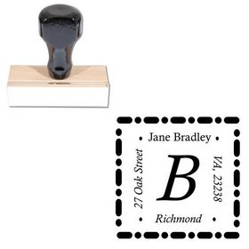 Calisto Address Monogram Stamp